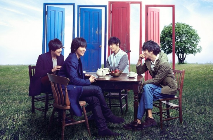"""flumpool releases special movie for concept disc """"FOUR ROOMS"""""""