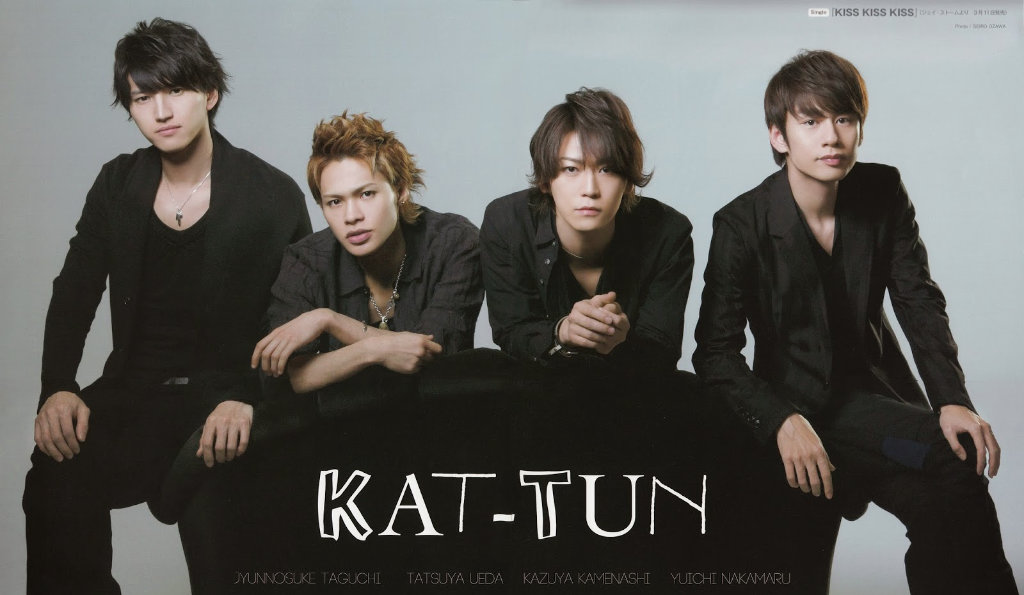 """KAT-TUN Announces """"come Here"""" DVD Release and Tokyo Dome Live"""