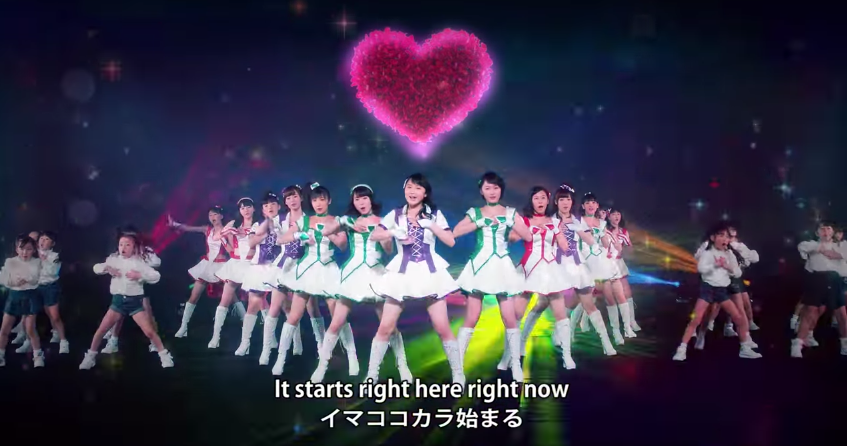 "Morning Musume. '15 ""Ima Koko Kara"" music video for Precure movie"
