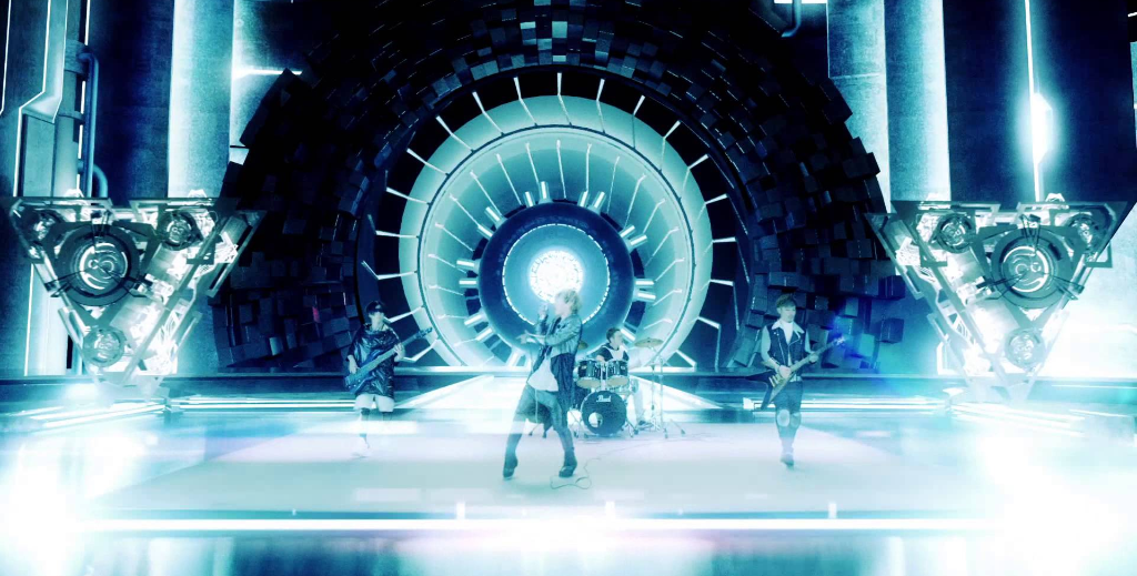 "SPYAIR's action and CG-filled music video for ""ROCKIN' OUT"""