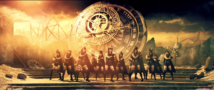 AKB48 premieres their action packed music video for 40th single