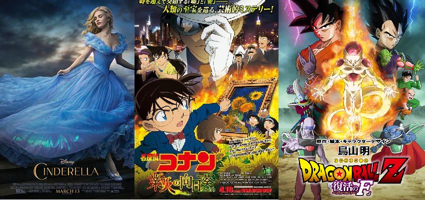 Japan Box Office Ranking (Week of May 2 – 3)