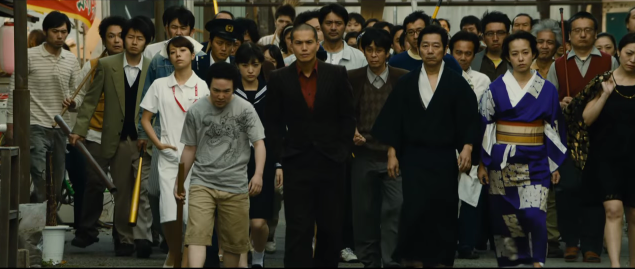 "Catch an even weirder full trailer for Takashi Miike's ""Yakuza Apocalypse"""