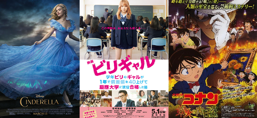 Japan Box Office Ranking (Week of May 9 – 10)