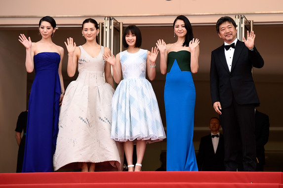 """Umimachi Diary"" Cast at the 68th Cannes Film Festival"