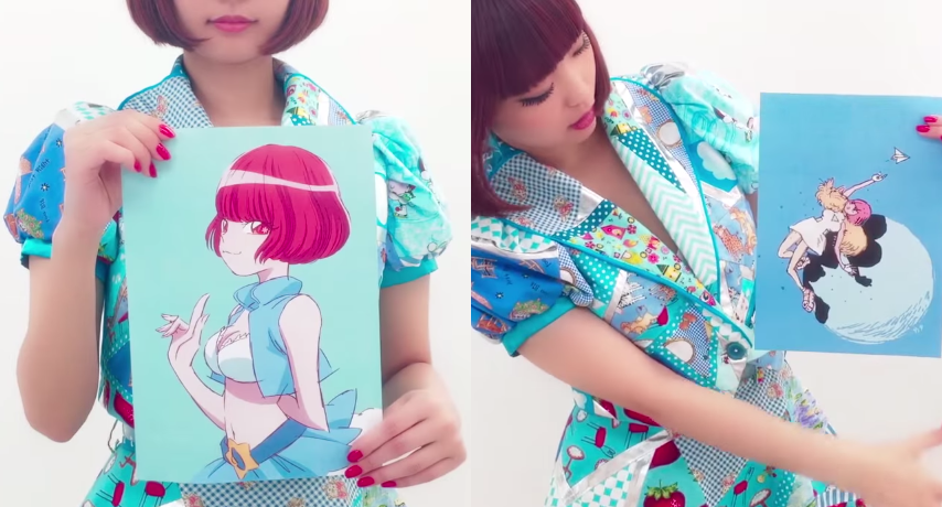 PVs for Yun*chi's anime cover album Ani*Yun, single announcement