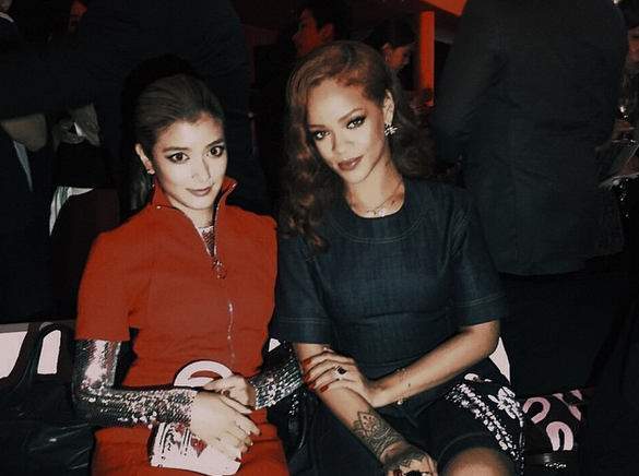 Celebrities Attend the Tokyo Presentation of Christian Dior's Fall 2015 Collection