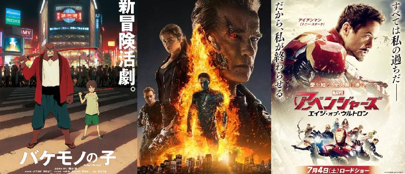 Japan Box Office Ranking (Week of July 11 – 12)