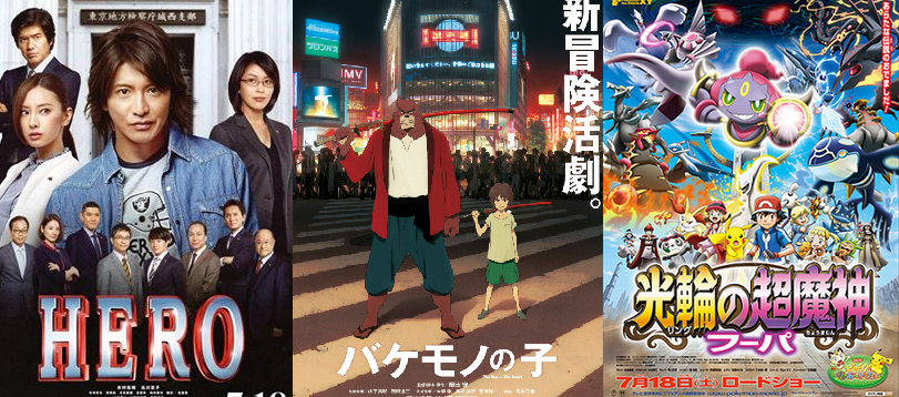 Japan Box Office Ranking (Week of July 18 – 19)