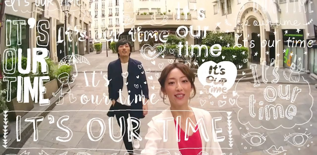 "moumoon takes a break in Europe for ""It's our Time"" Music Video"