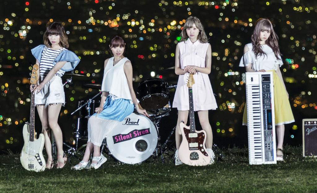 "Silent Siren Sings for Live-Action ""Anohana"" + New MV ""Hachi-gatsu no Yoru"""