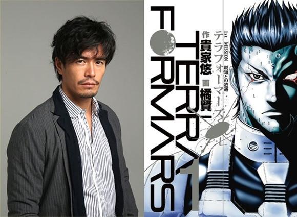 "12 Cast Announced for Takashi Miike's ""Terraformars"" Live-Action Film"