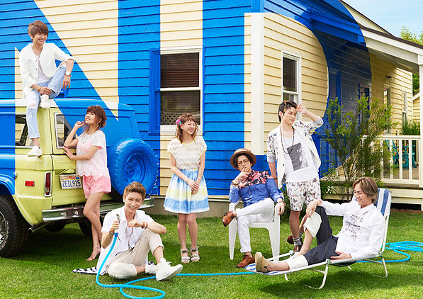 "AAA holds summer beach party with ""LOVER"" music video"