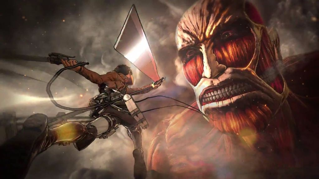 "Trailer for new ""Attack on Titan"" video game revealed"