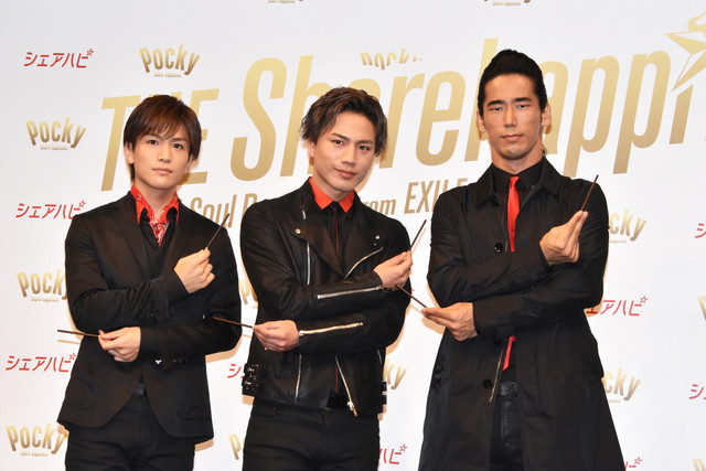 Takanori, Hiroomi, and Naoki of Sandaime J Soul Brothers to Star in New Pocky Ad Campaign
