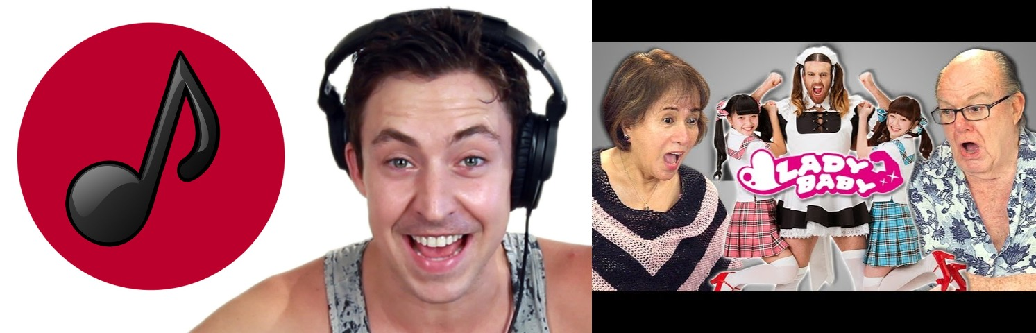 Buzzfeed and the Fine Brothers Release Videos of People Reacting to Japanese Music