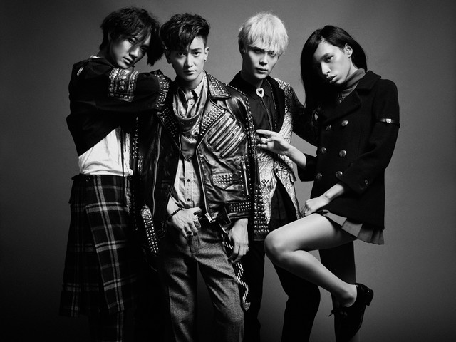 Avu-chan of Ziyoou-vachi Collaborates with KPop Boyband Sub-Unit Funky Galaxy from Choshinsei
