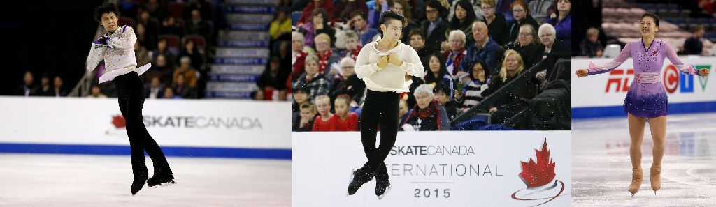 Yuzuru Hanyu Places 2nd, Daisuke Murakami and Yuka Nagai 3rd at Skate Canada