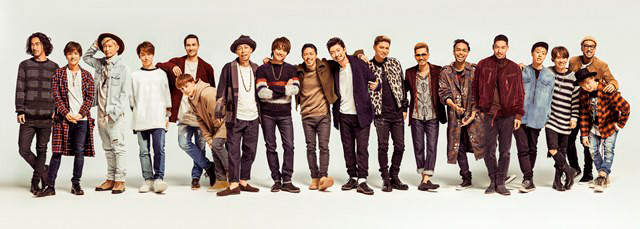"EXILE to Release New Single ""Ki・mi・ni・mu・chu"""