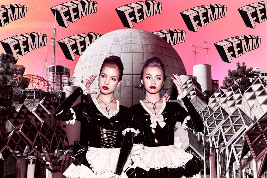 "FEMM Releases 50s Themed PV for ""PoW!"""