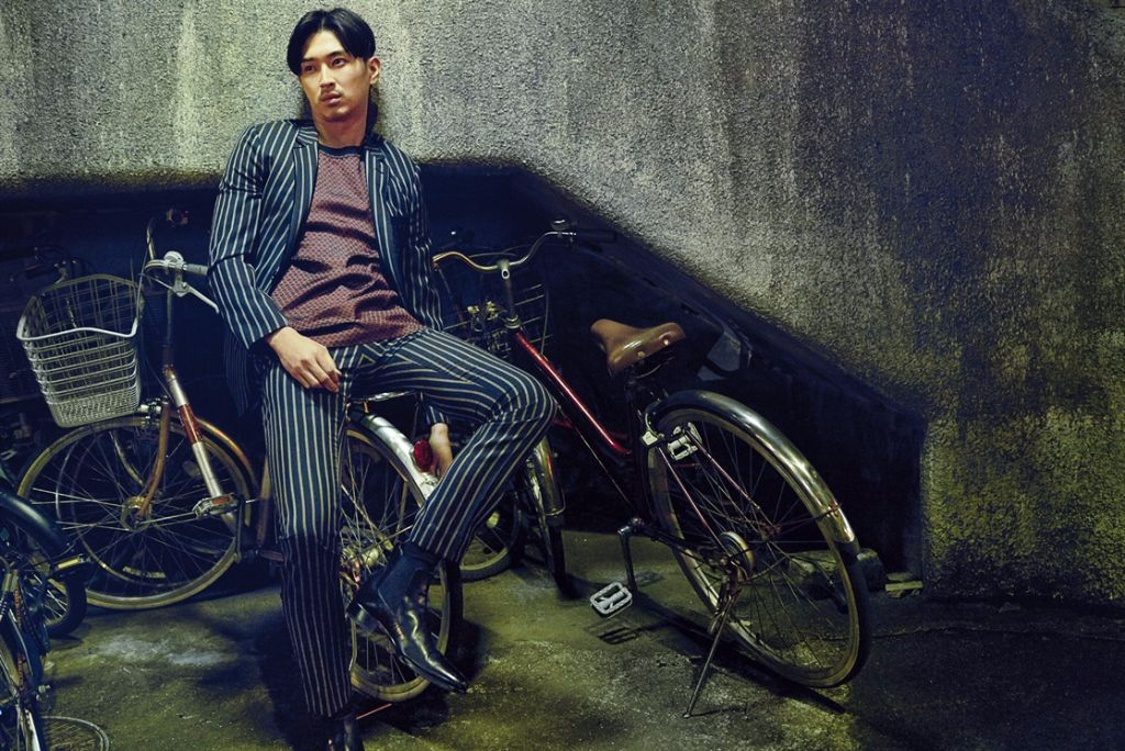 "Shota Matsuda Dubbed ""Japan's Finest"" by L'Uomo Vogue"
