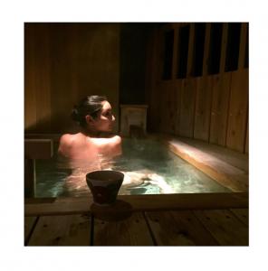Nanao onsen bath photo