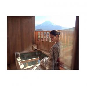 Nanao open air onsen bath
