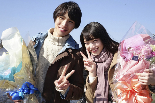 Nana Komatsu and Sota Fukushi Finish Filming for New Movie