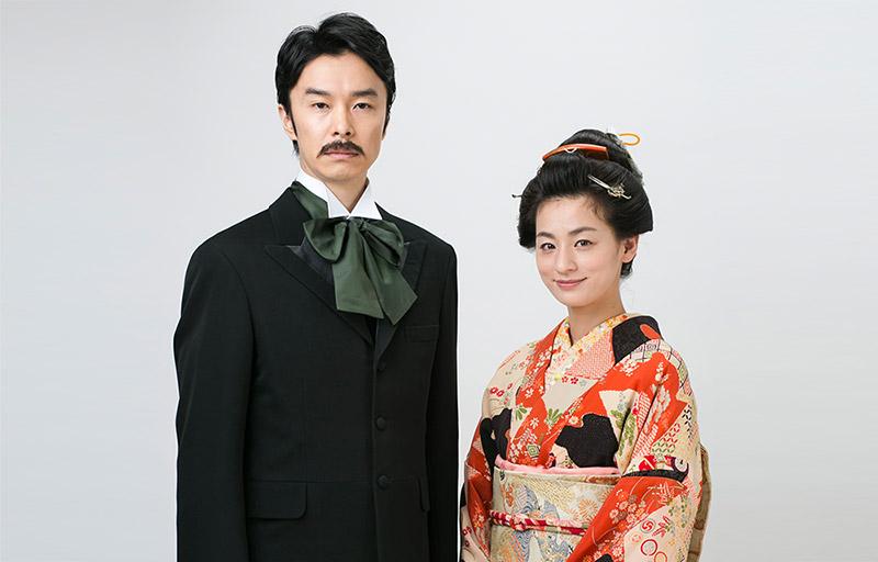 Machiko Ono and Hiroki Hasegawa cast in NHK drama 'Natsume Soseki no Tsuma'