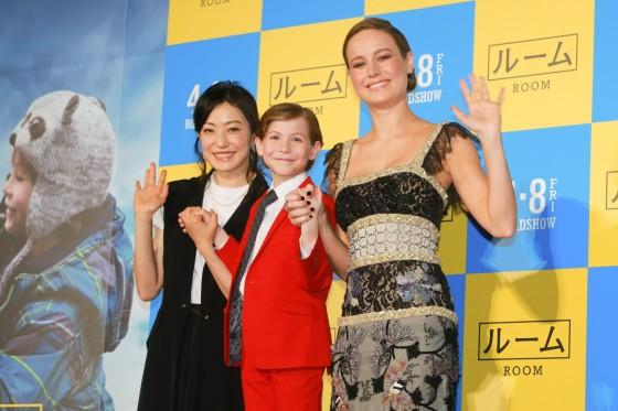 """Room"" stars Brie Larson & Jacob Tremblay visit Japan. Jacob's favourite tune is Gen Hoshino!"