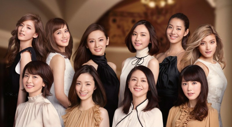 Star-packed CM features Aya Ueto, Keiko Kitagawa, Rola, E-girls, and more