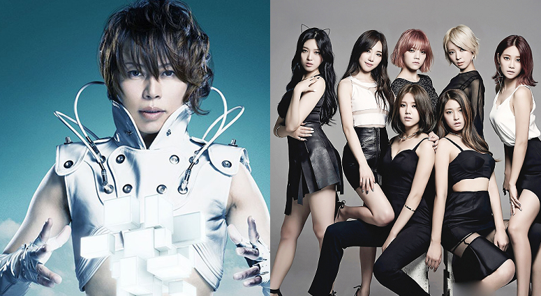 AOA's Latest Japanese Single will Feature T.M.Revolution