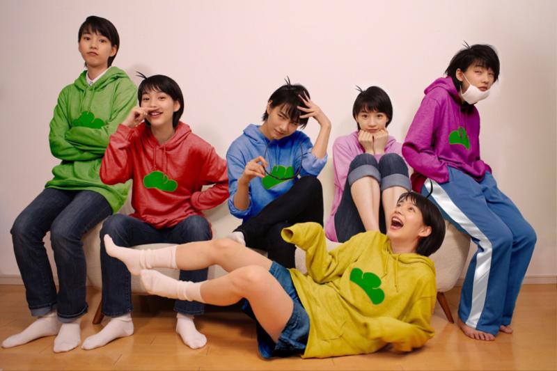 Rena Nounen cosplaying as Osomatsu-san on April Fools' Day