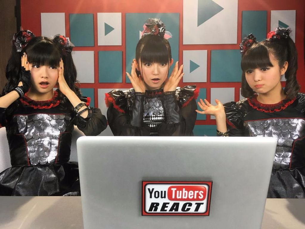 BABYMETAL Reacts to YouTubers Reacting to BABYMETAL