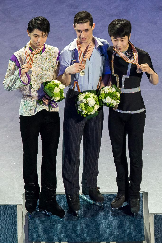Yuzuru Hanyu Places Second at World Championships