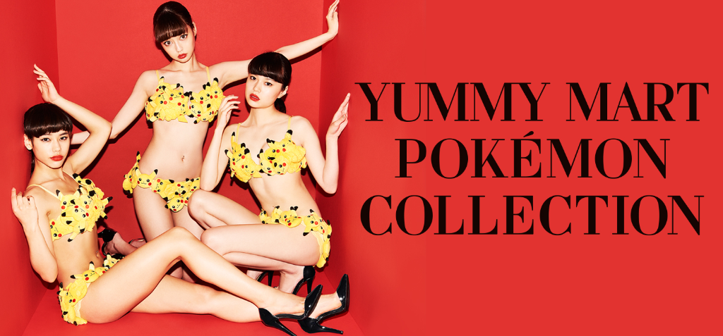 YUMMY MART Releasing Cute Pokemon Themed Collection!