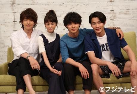 Mirei Kiritani, Shohei Miura, Kento Yamazaki, and Shuhei Nomura to star in a Getsu-9 Drama on Summer