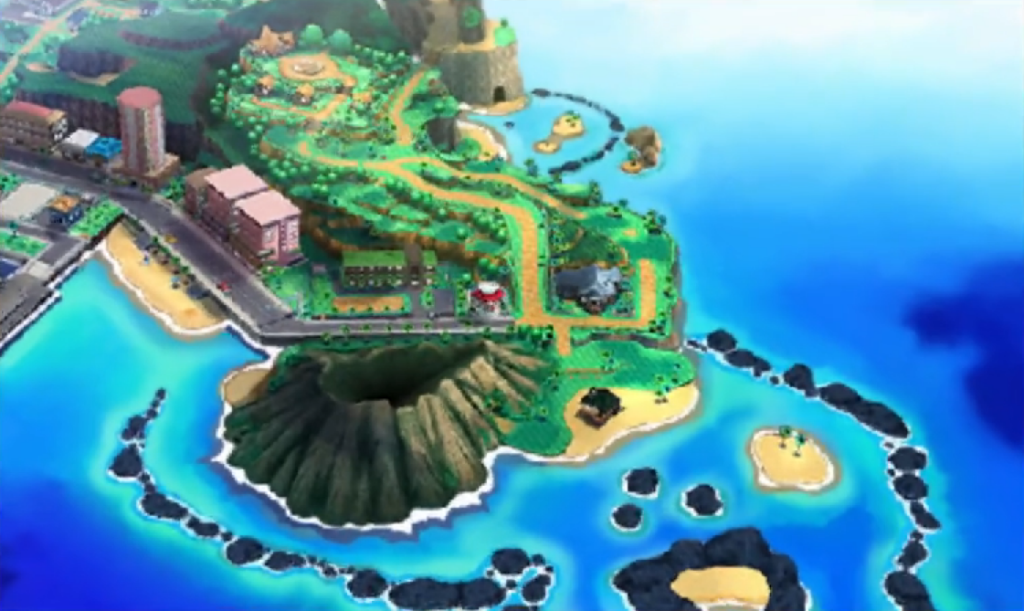 alola city pokemon sun moon
