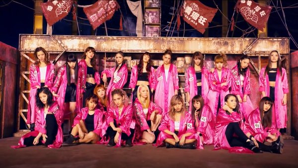 "E-girls Get Rough in ""STRAWBERRY Sadistic"" PV"