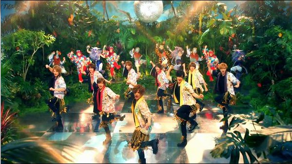 """Hey! Say! JUMP enjoys summer in the jungle in """"Maji Sunshine"""" PV + Arena Tour Announced"""