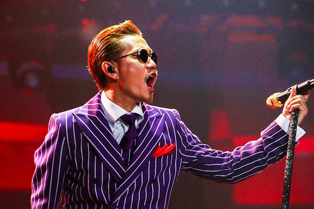 EXILE ATSUSHI Forms New Band RED DIAMOND DOGS