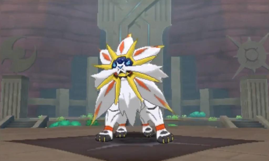 pokemon sun legendary