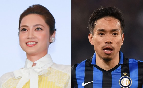 Actress Airi Taira and Inter Milan's Yuto Nagatomo are dating, heading for marriage