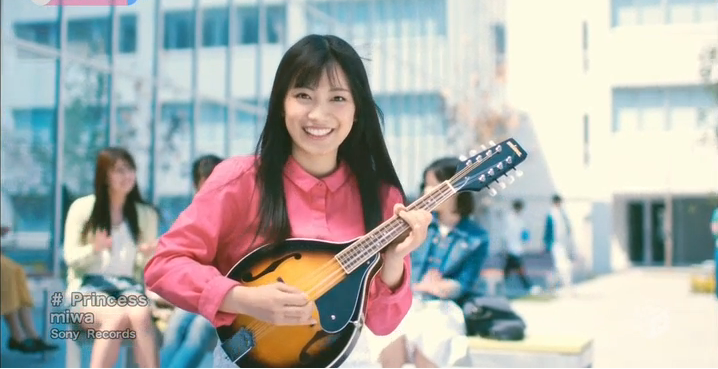 "miwa enjoys campus life in her newest music video for ""Princess"""