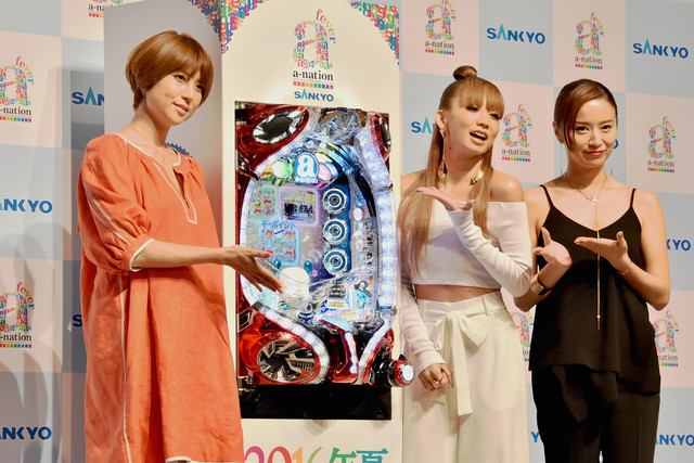 Avex Stars of Yore Present New Pachinko Machine