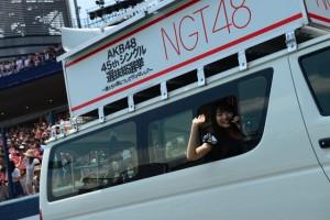 NGT48 Election Car