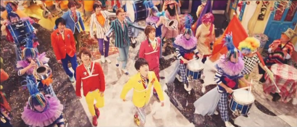 "Join Kis-My-Ft2's grand parade for ""YES! I SCREAM"" PV + Solo PVs Out"