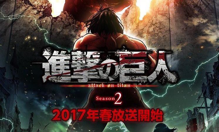 """""""Attack on Titan"""" Season 2 Announces Premiere Date"""