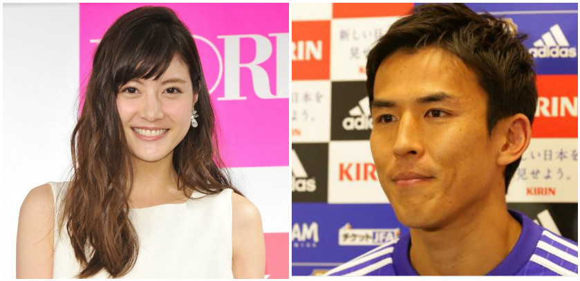 Netizens send congratulations on football captain Makoto Hasebe and model Arisa Sato's wedding