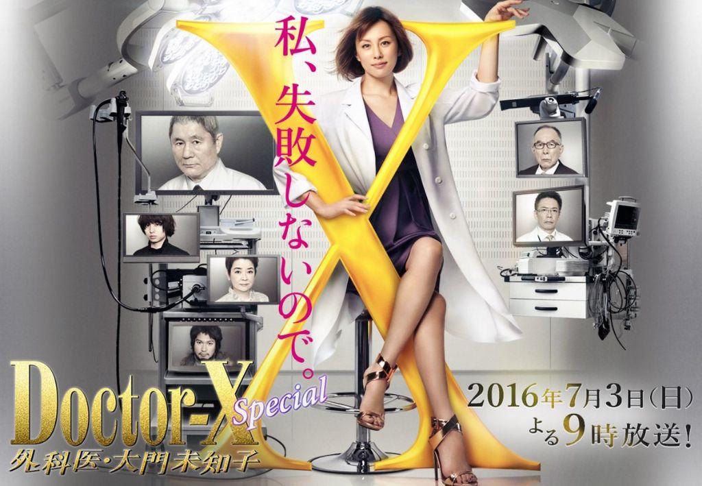 """Doctor X"" SP gets 22% ratings ahead of Season 4 broadcast"